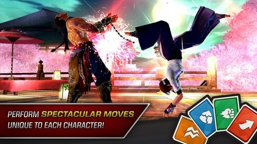 Screenshot for Tekken on iOS