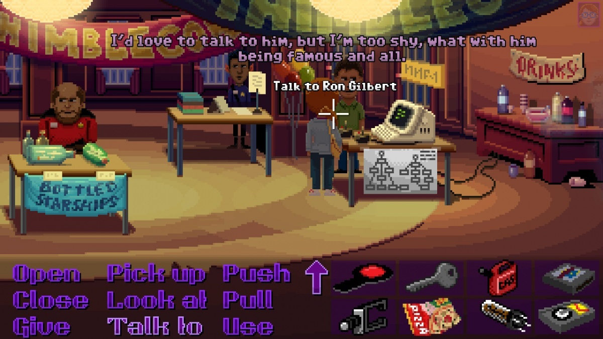 Screenshot for Thimbleweed Park on Nintendo Switch