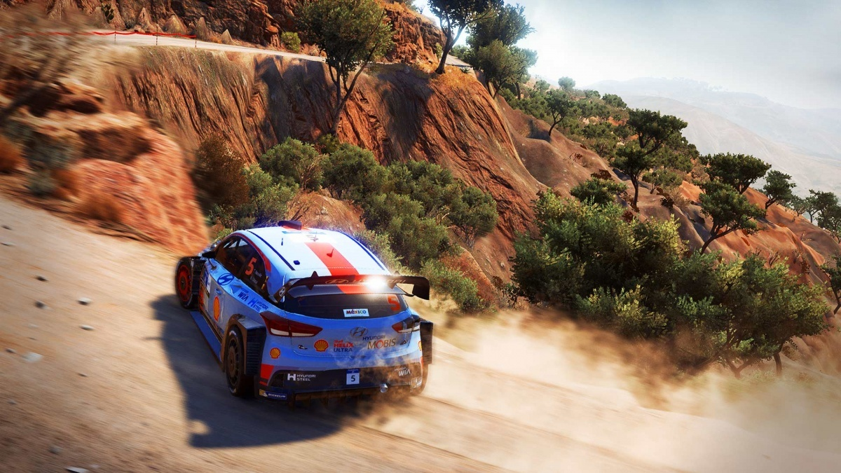 Screenshot for WRC 7 on Xbox One