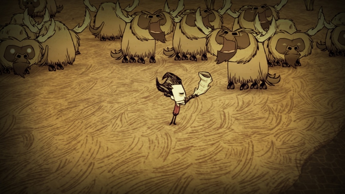 Screenshot for Don't Starve: Nintendo Switch Edition on Nintendo Switch