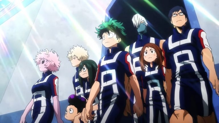 Image for Anime Review: My Hero Academia Season 2 Part 1