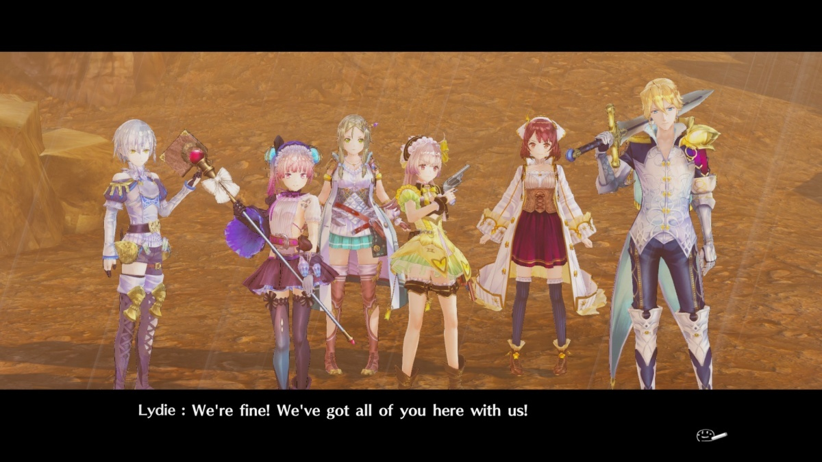 Screenshot for Atelier Lydie & Suelle: The Alchemists and the Mysterious Paintings on PlayStation 4
