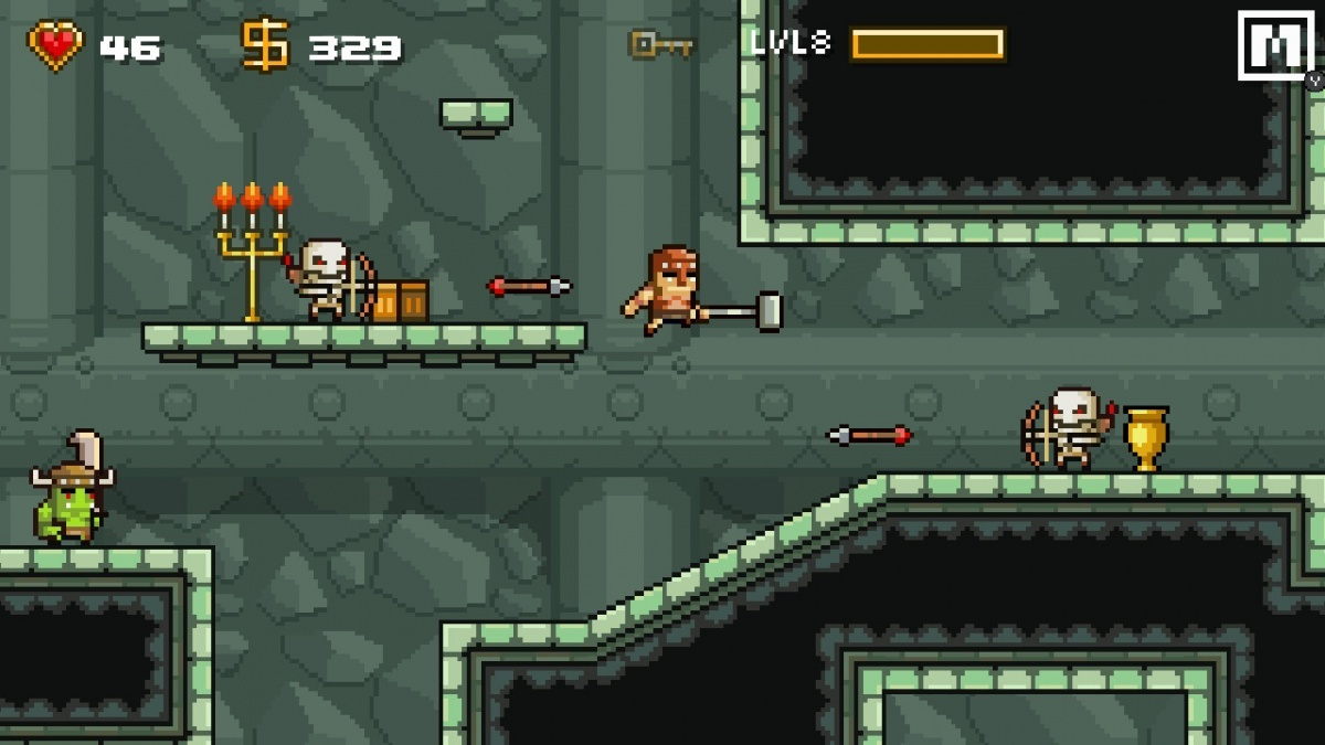 Screenshot for Devious Dungeon on Nintendo Switch