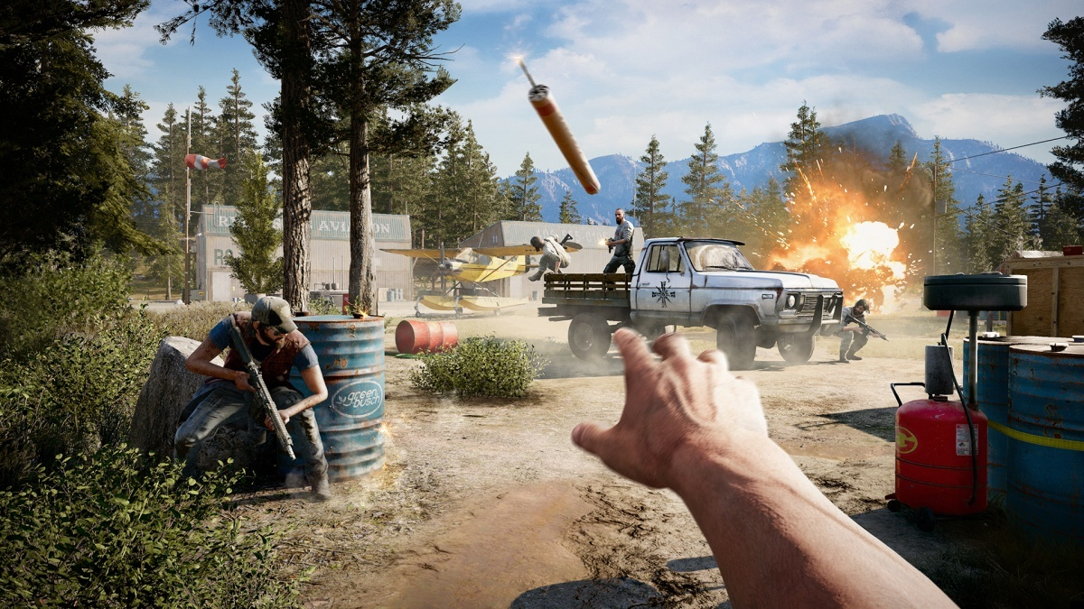 Screenshot for Far Cry 5 on PC