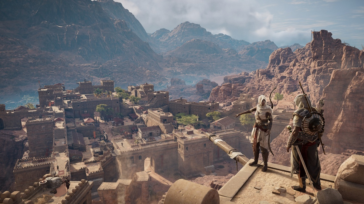 Screenshot for Assassin's Creed Origins: The Hidden Ones on PlayStation 4
