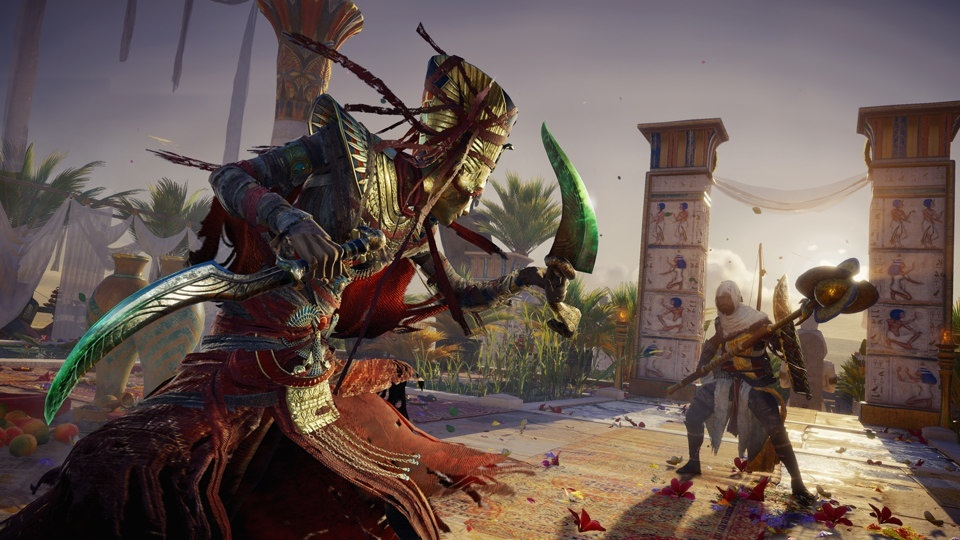 Screenshot for Assassin's Creed Origins: The Curse of the Pharaohs on PlayStation 4