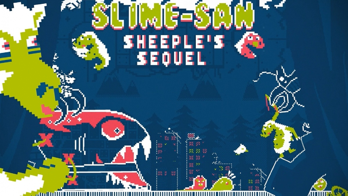 Screenshot for Slime-san: Sheeple's Sequel on PC