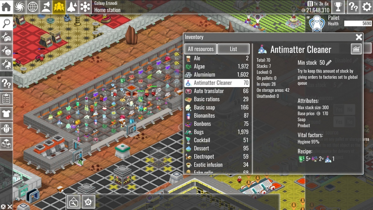 Screenshot for The Spatials: Galactology on PC
