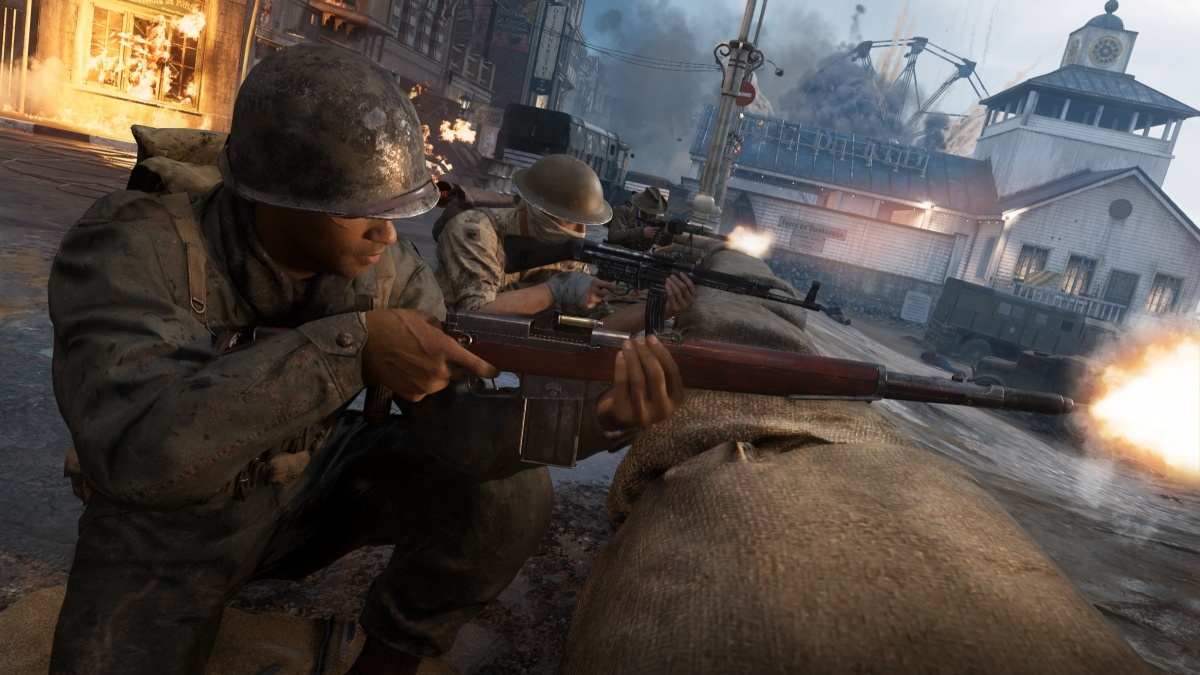 Screenshot for Call of Duty: WWII - The War Machine: DLC Pack 2 on PlayStation 4