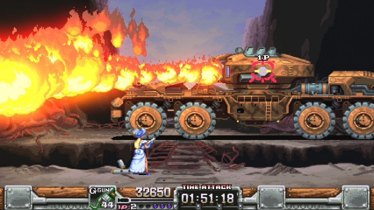 Screenshot for Wild Guns Reloaded on Nintendo Switch