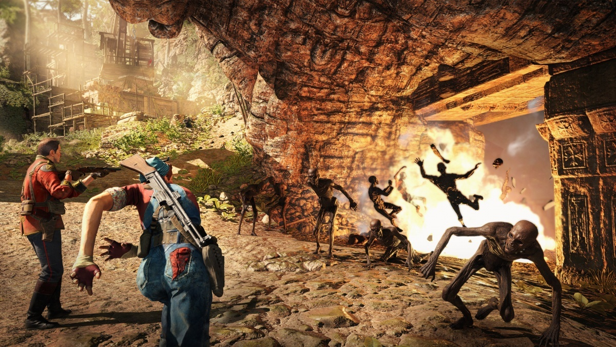 Screenshot for Strange Brigade on PlayStation 4