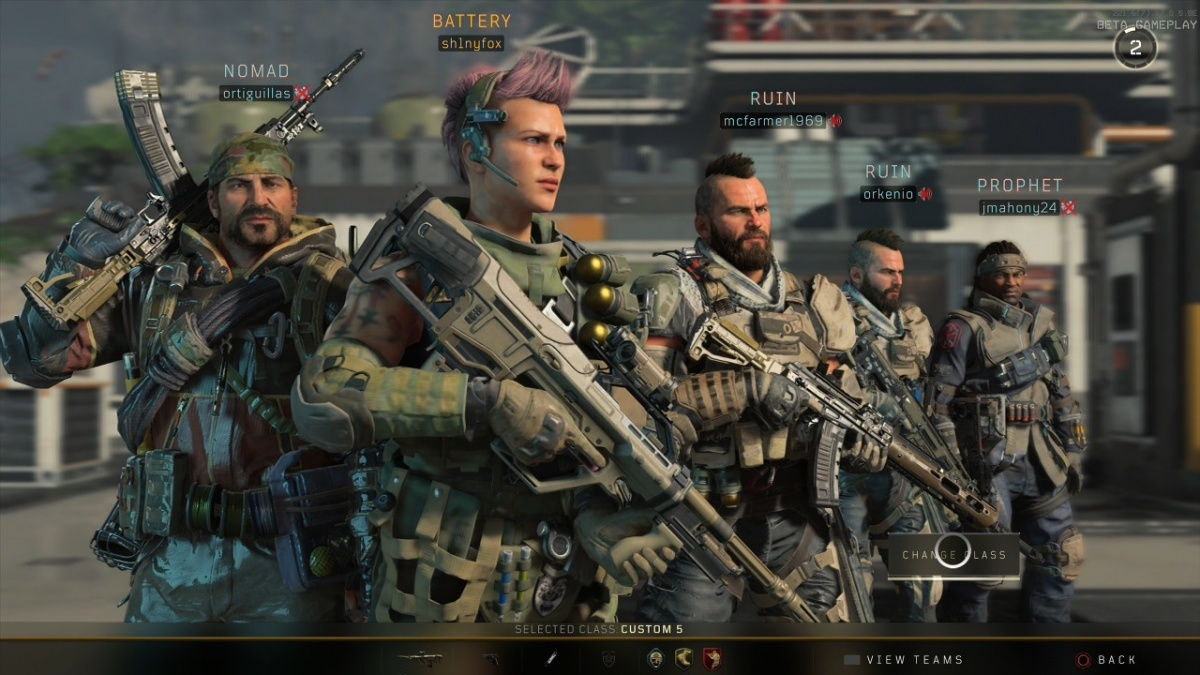 Screenshot for Call of Duty: Black Ops IIII on PC