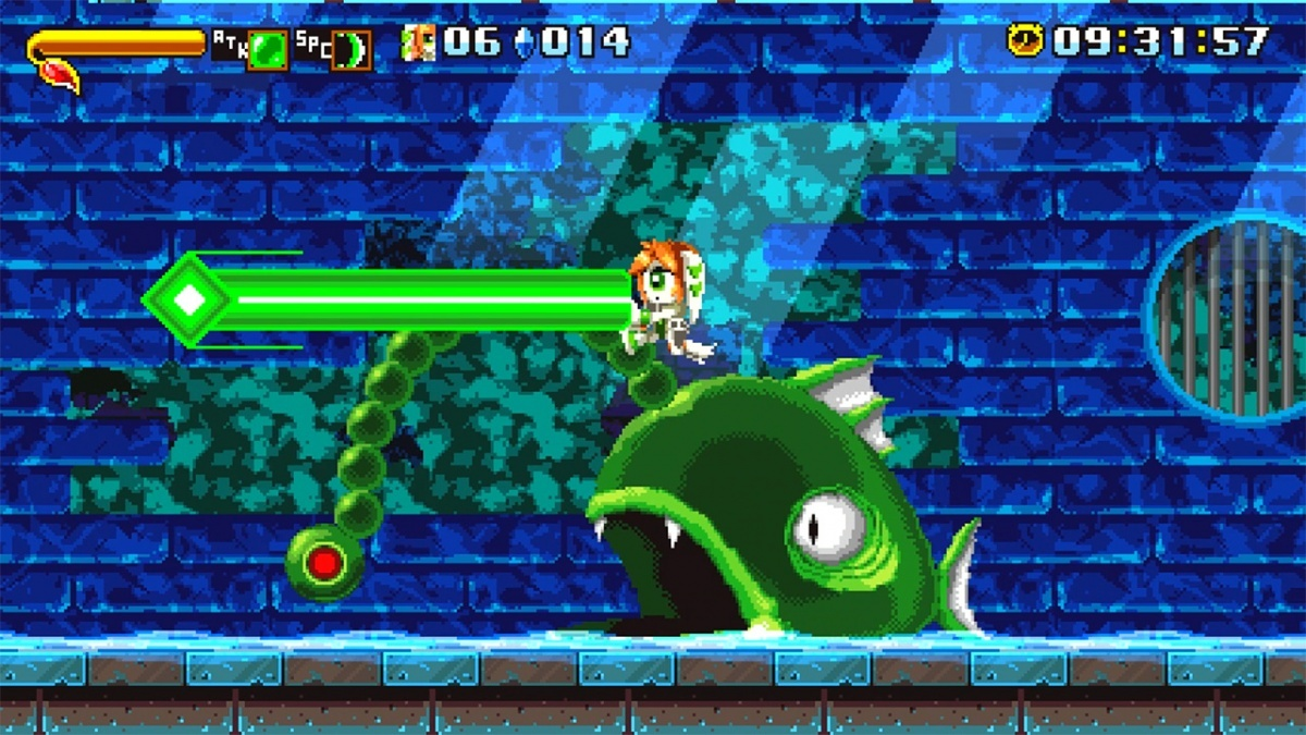 Screenshot for Freedom Planet on Nintendo Switch