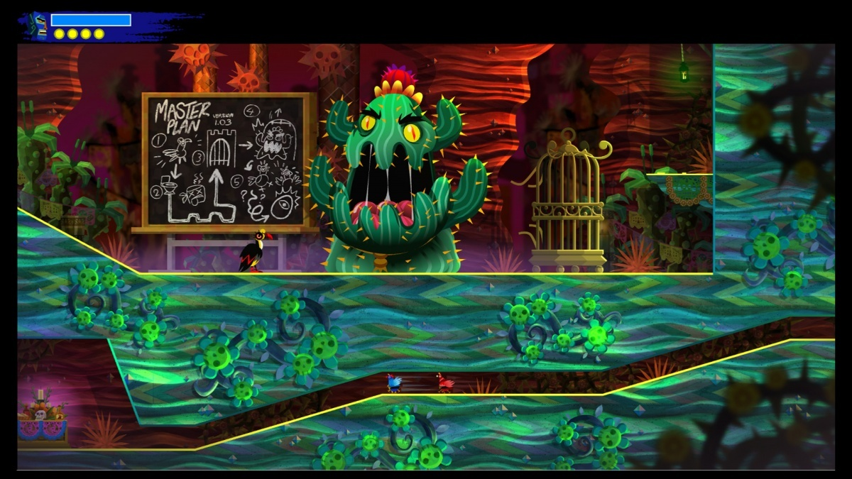 Screenshot for Guacamelee! 2 on PlayStation 4