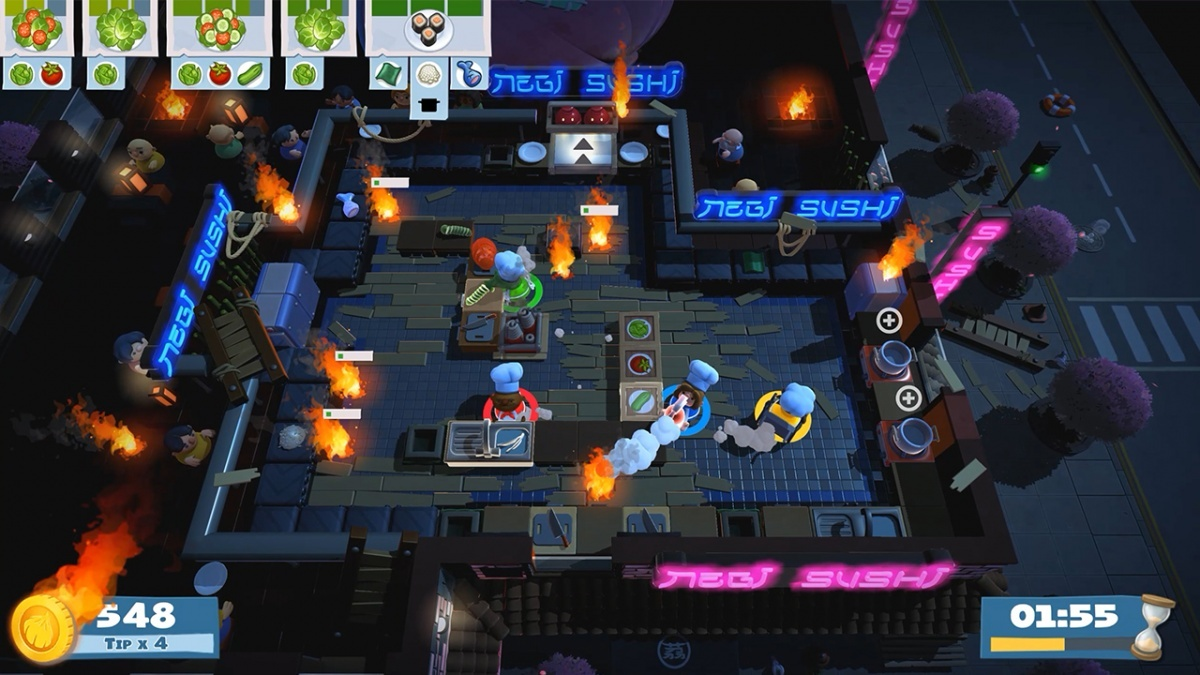 Screenshot for Overcooked! 2 on Nintendo Switch