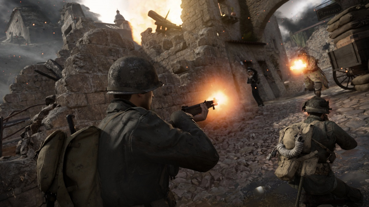 Screenshot for Call of Duty: WWII - United Front: DLC Pack 3 on PlayStation 4