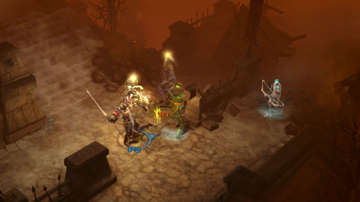 Screenshot for Diablo III: Eternal Collection on Nintendo Switch