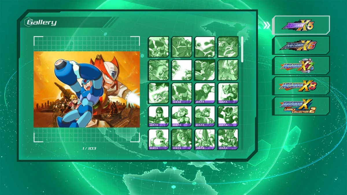 Screenshot for Mega Man X Legacy Collection 2 on Nintendo Switch