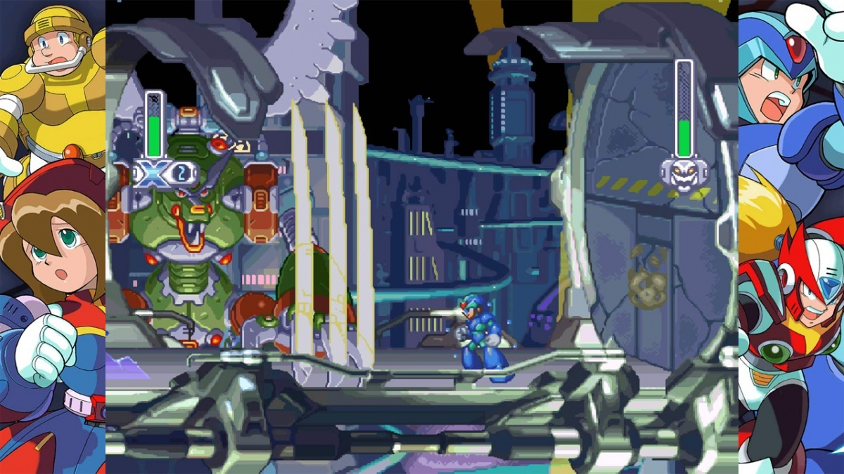Screenshot for Mega Man X Legacy Collection on Nintendo Switch