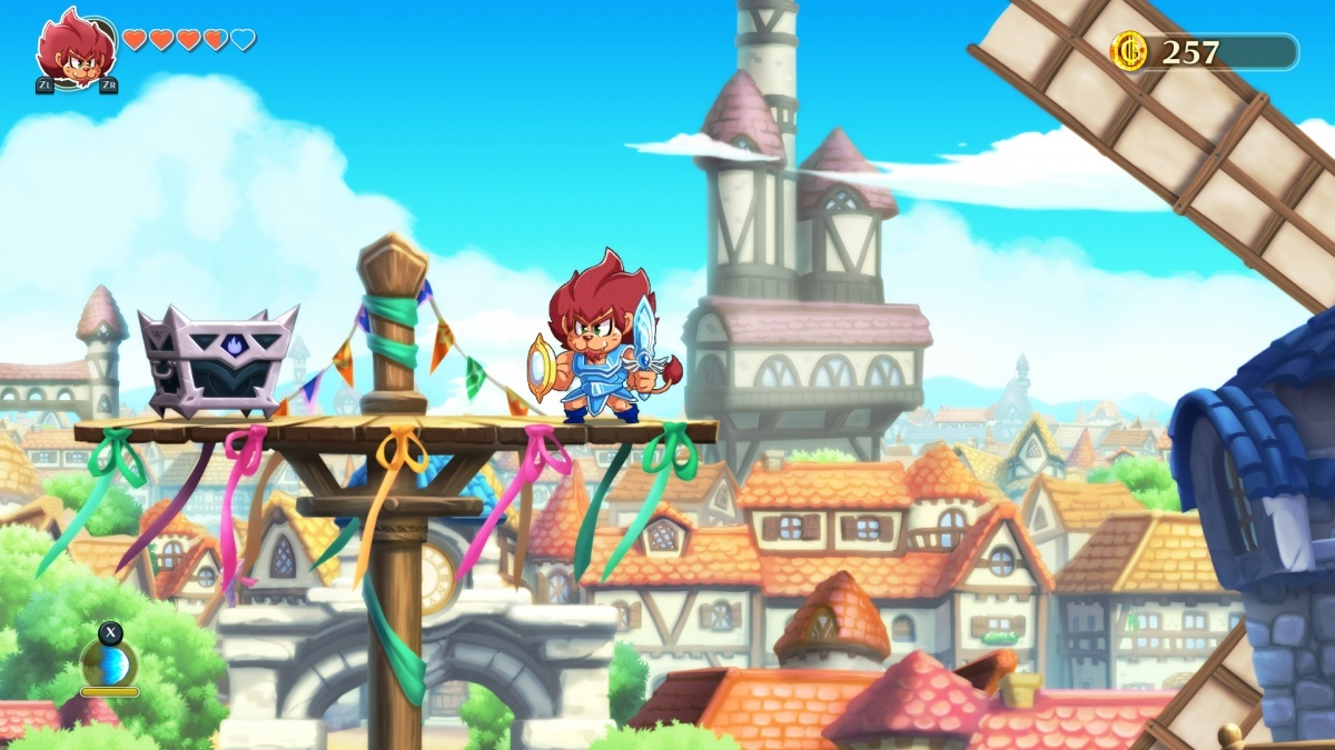 Screenshot for Monster Boy and the Cursed Kingdom on PlayStation 4