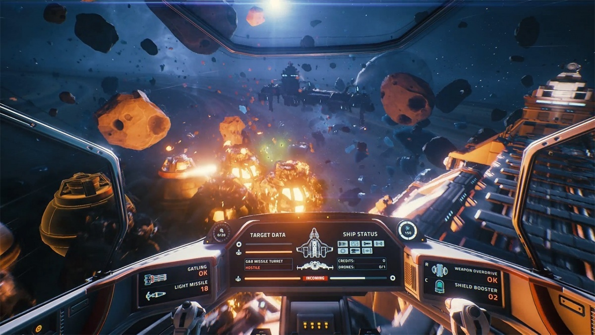 Screenshot for Everspace: Stellar Edition on Nintendo Switch