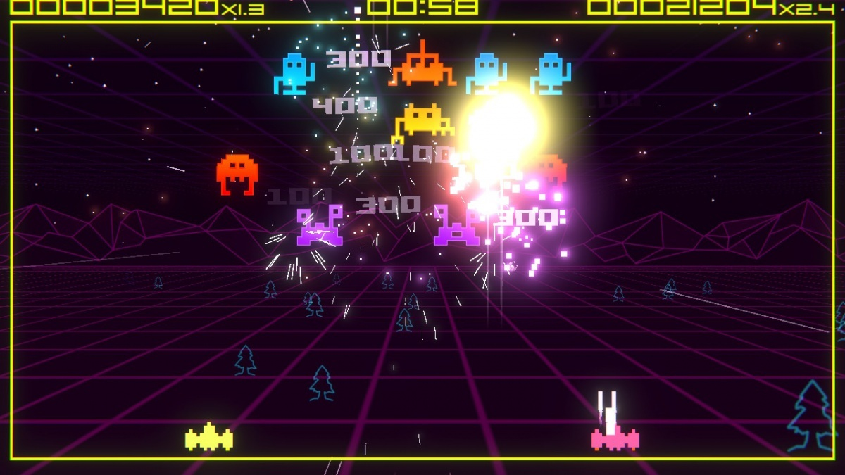 Screenshot for Super Destronaut DX on Nintendo Switch