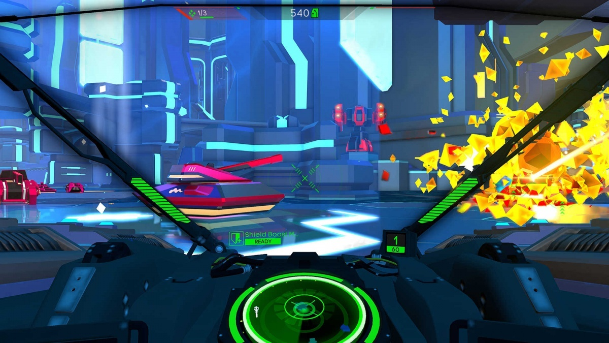 Screenshot for Battlezone: Gold Edition on Nintendo Switch