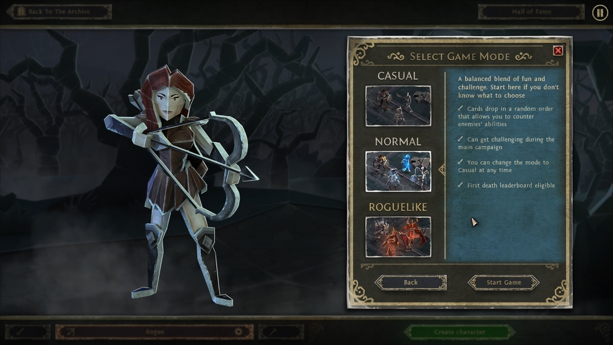 Screenshot for Book of Demons on PC