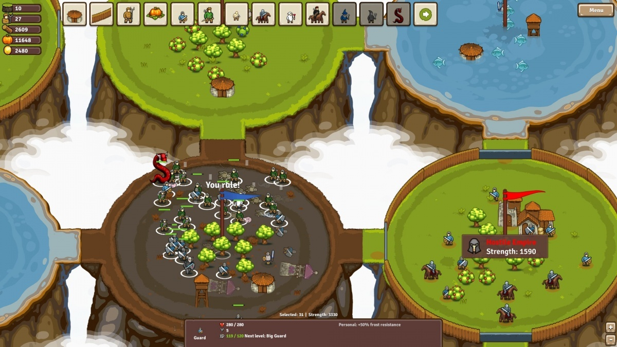 Screenshot for Circle Empires on PC