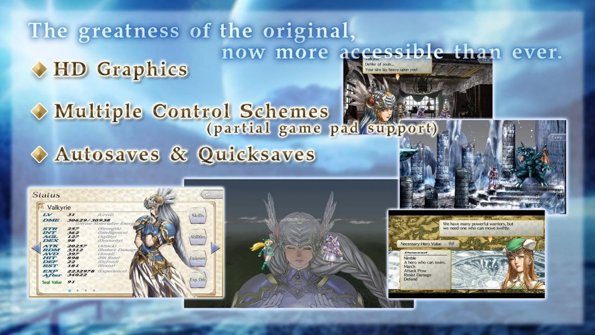 Screenshot for Valkyrie Profile: Lenneth on iOS