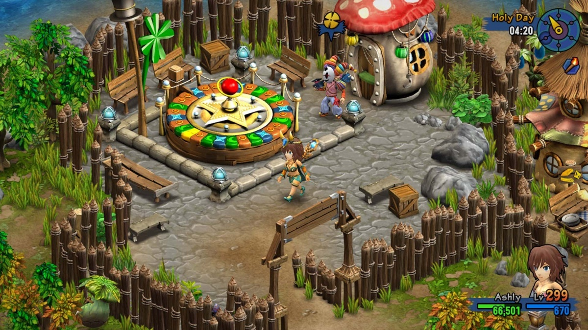 Screenshot for Rainbow Skies on PS Vita