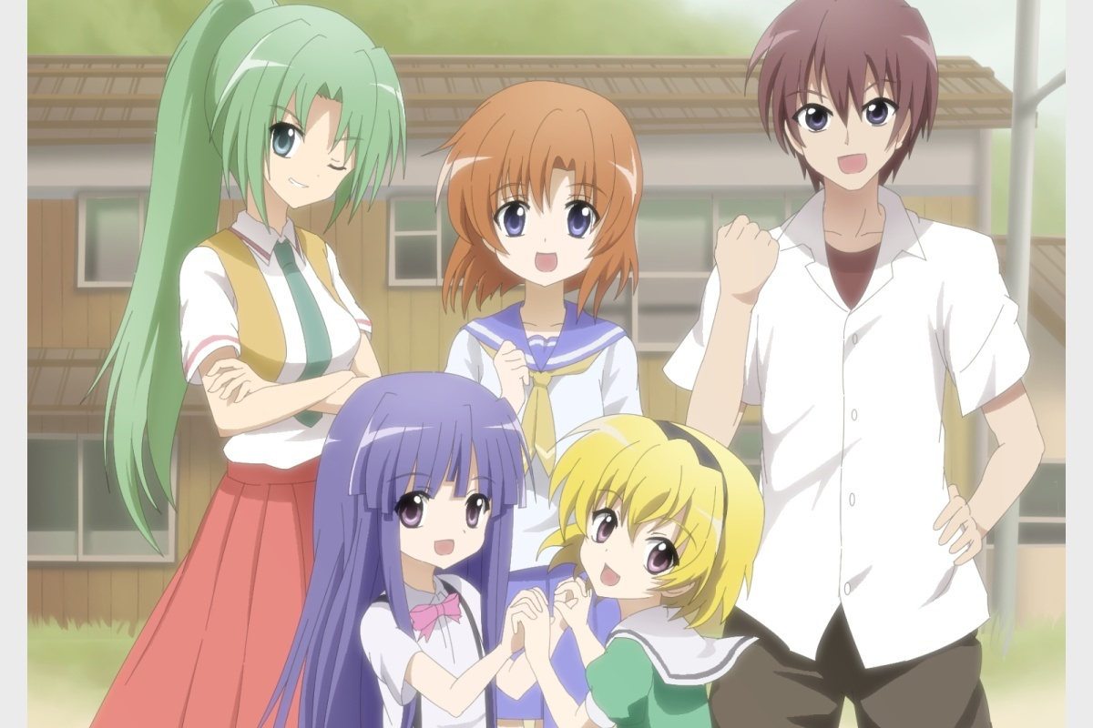 Image for Anime Review: Higurashi - When They Cry Season 1