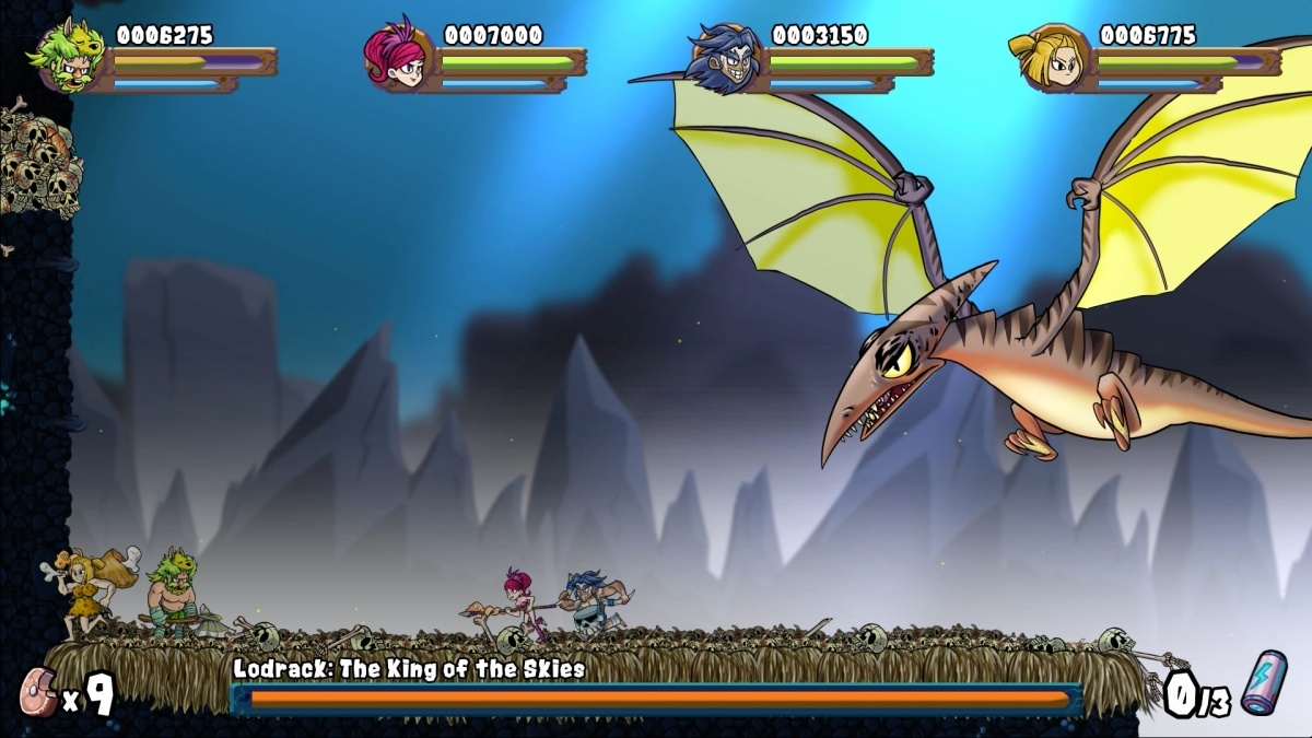 Screenshot for Caveman Warriors on PlayStation 4