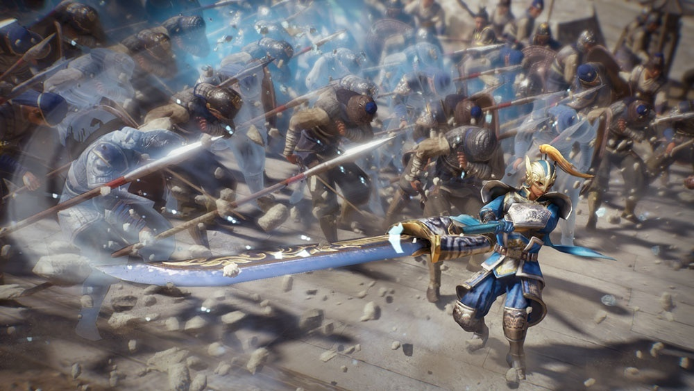 Screenshot for Dynasty Warriors 9 on PlayStation 4