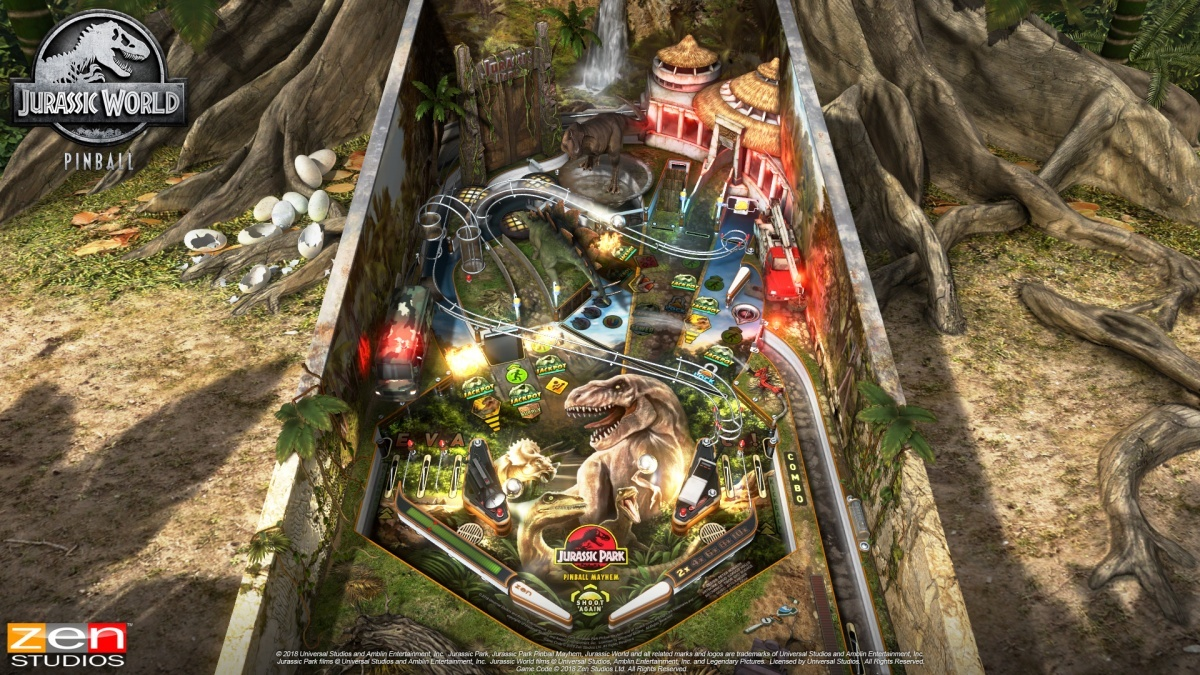 Pinball FX3: Jurassic World Pinball Xbox One Screens and Art