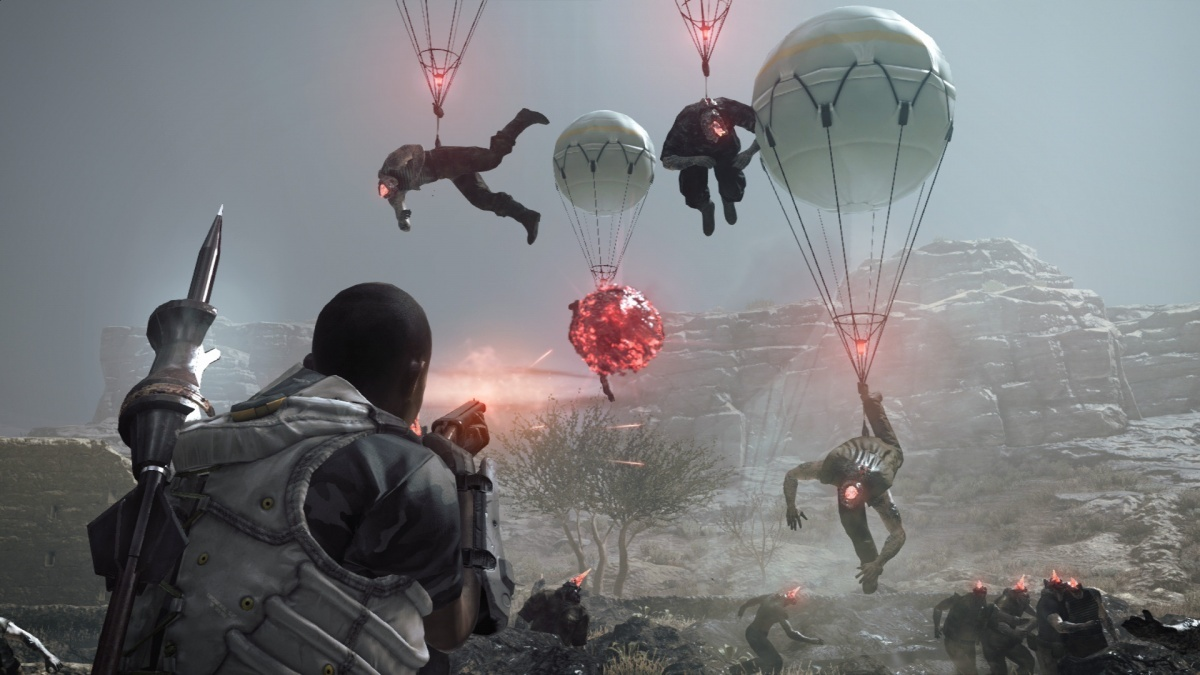 Screenshot for Metal Gear Survive on PC