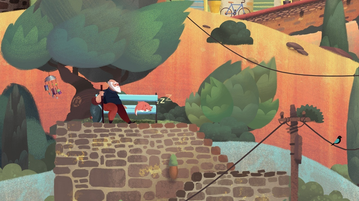Screenshot for Old Man's Journey on Nintendo Switch