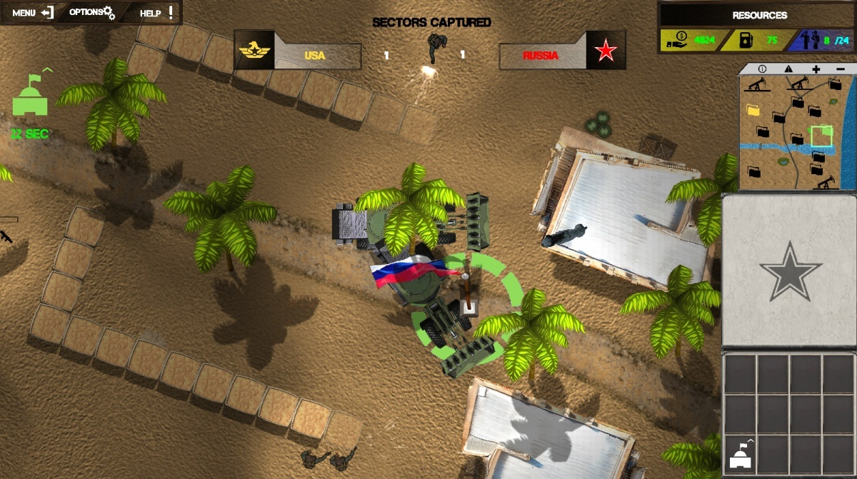 Screenshot for Raid on Coasts on PC
