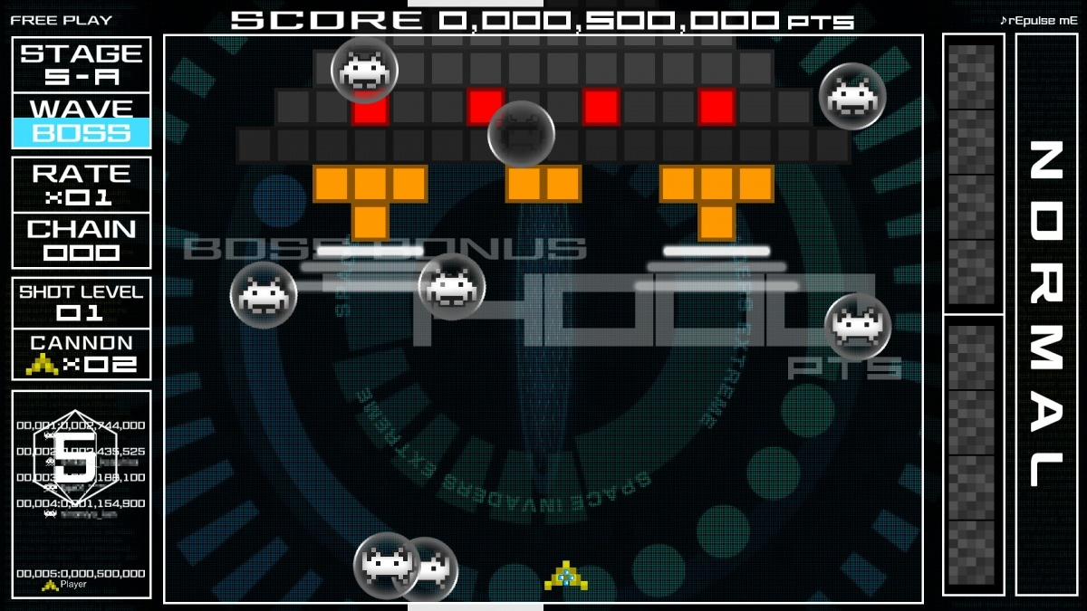 Screenshot for Space Invaders Extreme on PC