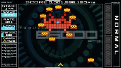 Screenshot for Space Invaders Extreme - click to enlarge