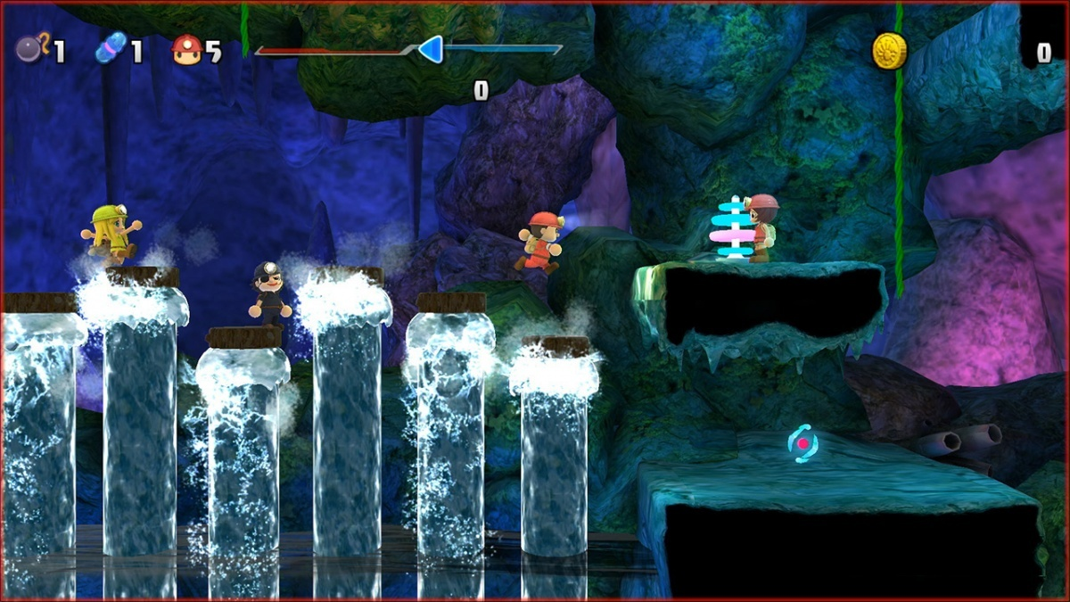Screenshot for Spelunker Party! on Nintendo Switch