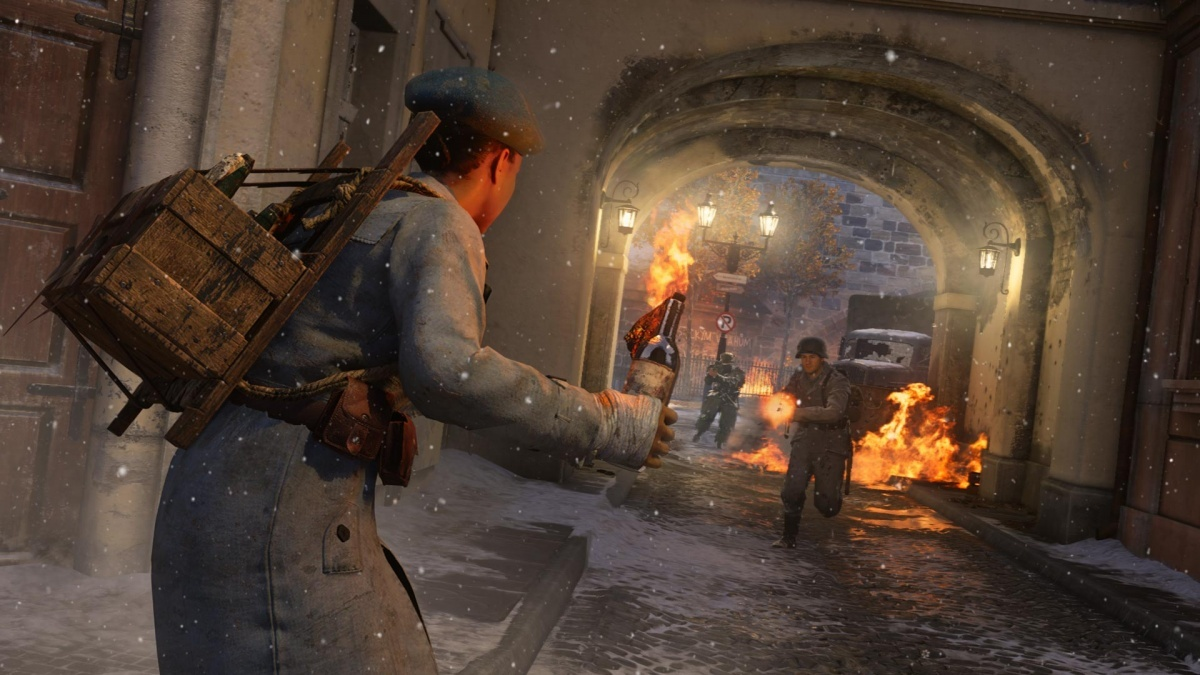 Screenshot for Call of Duty: WWII - The Resistance: DLC Pack 1 on PlayStation 4