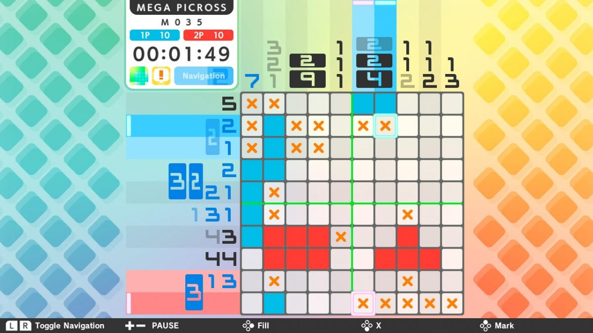 Screenshot for Picross S on Nintendo Switch