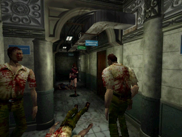 Screenshot for Resident Evil 2 on PlayStation