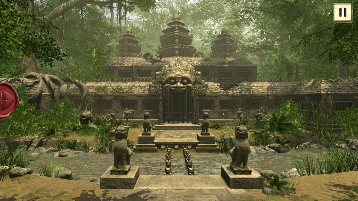 Screenshot for Escape Hunt: The Lost Temples on iOS