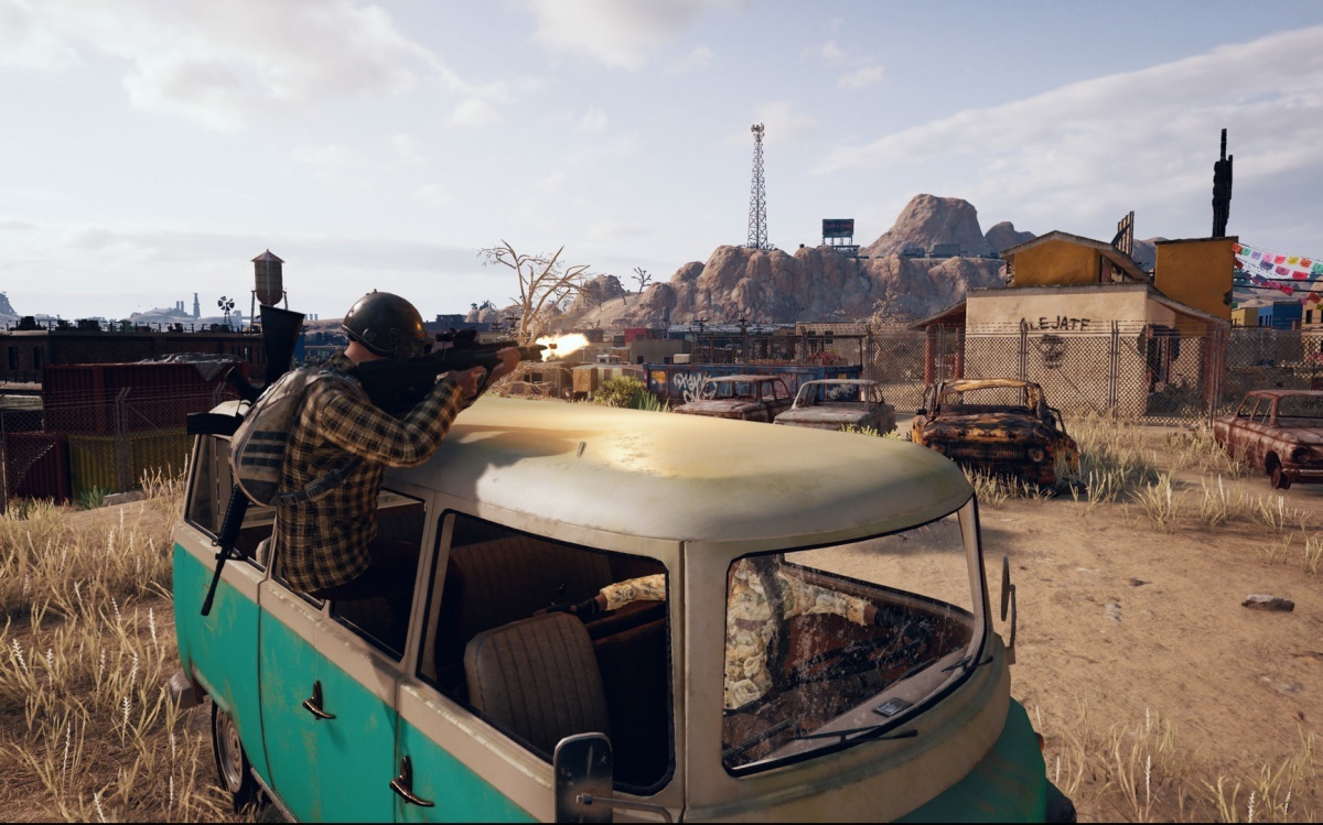 Screenshot for PlayerUnknown's Battlegrounds on PC