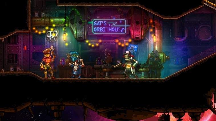 Screenshot for SteamWorld Heist: Ultimate Edition on Nintendo Switch