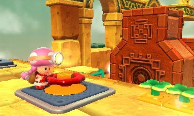 Screenshot for Captain Toad: Treasure Tracker on Nintendo 3DS