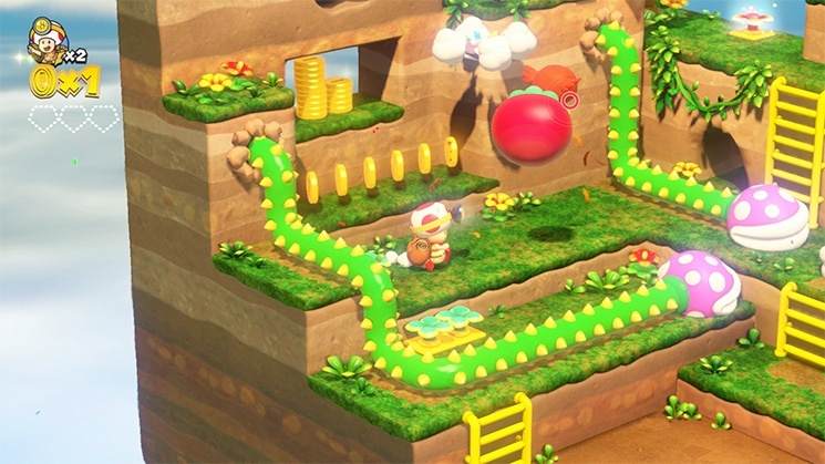 Screenshot for Captain Toad: Treasure Tracker on Nintendo Switch