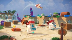 Screenshot for Mario + Rabbids Kingdom Battle - Donkey Kong Adventure - click to enlarge